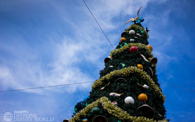 The Epcot tree is my favorite of the 4 parks.