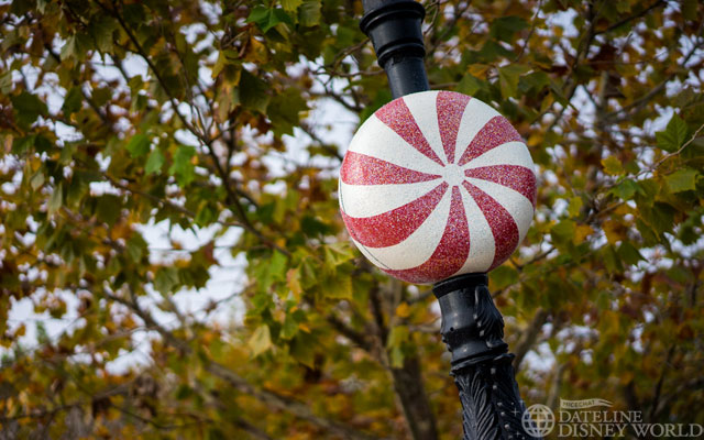 France has peppermints on all the light posts.