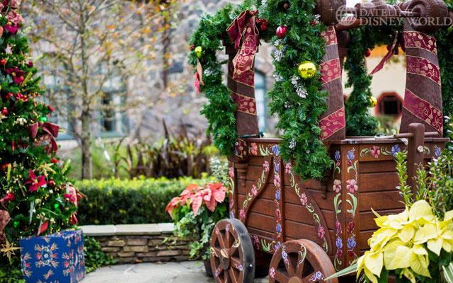 Norway's Christmas cart.