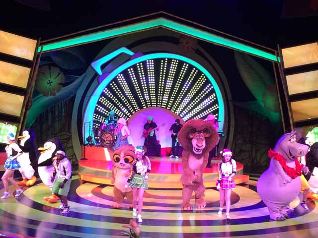 Madagascar Live! Operation: Christmas Vacation is always a fun show for families to enjoy.