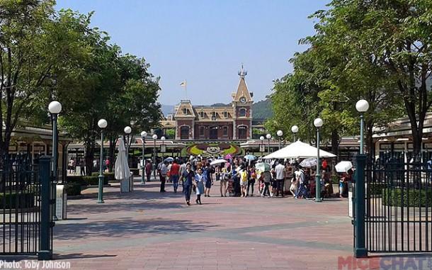Ticket Booths and Main Entrance of Hong Kong Disneyland