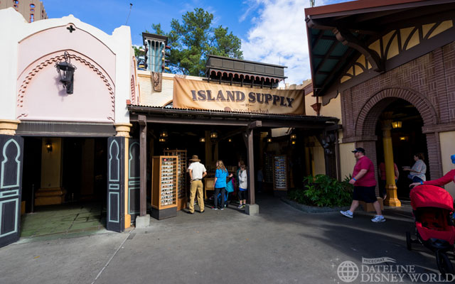 Sunglass Hut opened in Adventureland.