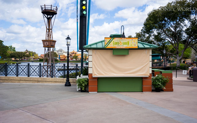 More food booths.