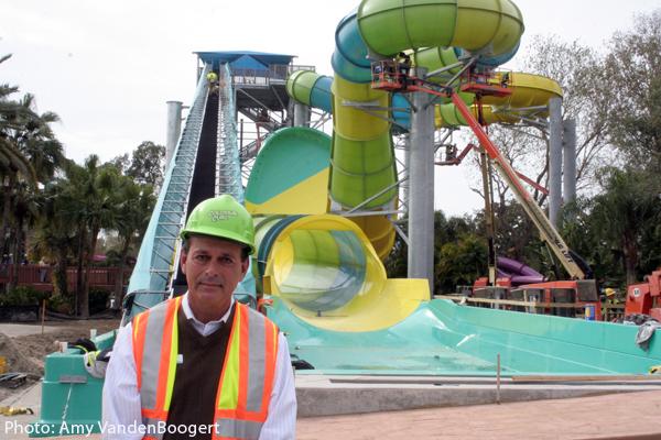 Adventure Island Vice President, Rusty Keene