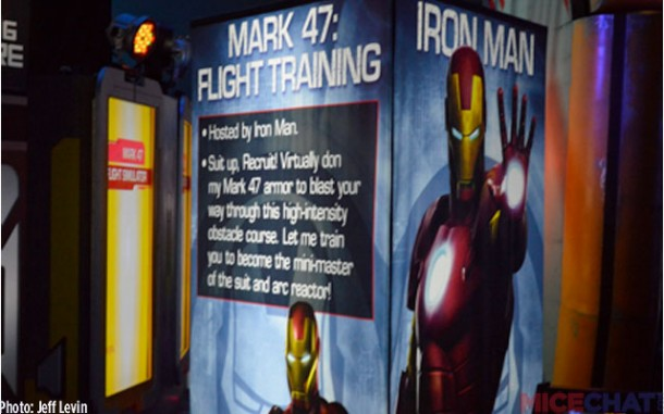 Flight Training with Iron Man.