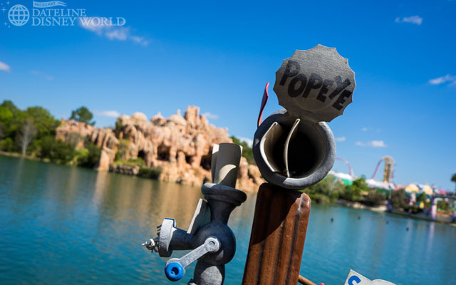 The next few photos are from the lagoon area near Popeye and Bluto, which I think is a very underrated section of the park.