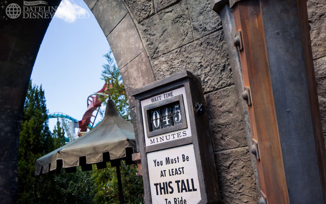 You know it's busy when Dragon Challenge is 45 minutes.