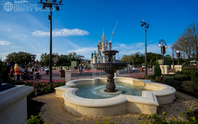 New fountains are installed and are quite beautiful.