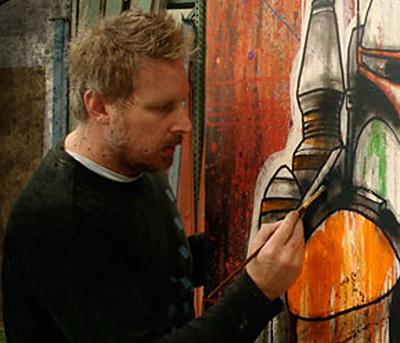 Artist Shane Grammer
