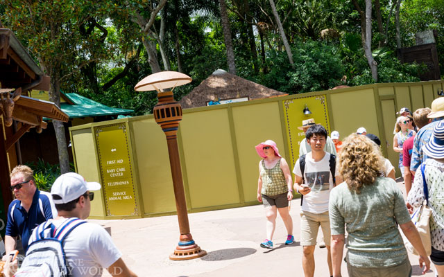 New DVC kiosk going up.