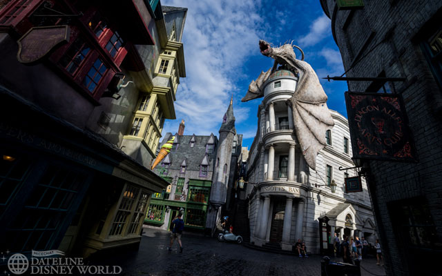 I'm happy to report that Gringotts was in tip-top shape when I rode it, including the Kuka arm at the end that was out of commission for quite some time.
