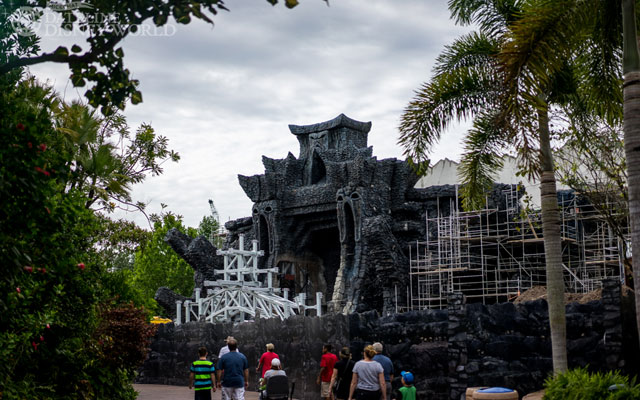 Time for our normal round of Reign of Kong construction photos.