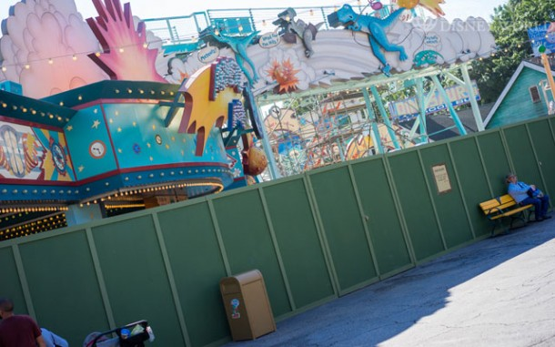 Primeval Whirl is down for refurbishment.
