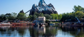 Hopefully it all gets themed appropriately and doesn't ruin this wonderful view from Flame Tree BBQ of Everest.