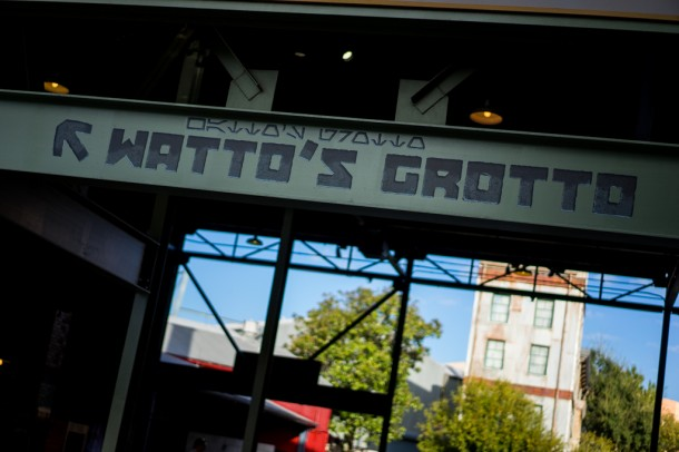 More permanent signage for Watto's Grotto. That's probably not leaving any time soon.