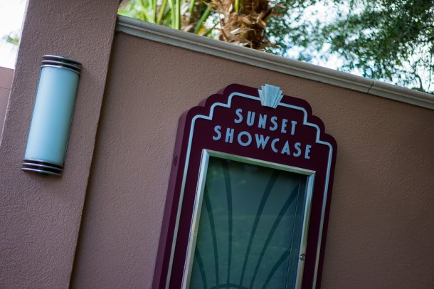 The new theater behind Rock 'n' Roller Coaster is called Sunset Showcase and will feature Club Disney, an air conditioned space with a DJ and dancing Disney characters. Not my cup of tea, but it seems to work for Universal over at the exit to Minion Mayhem.