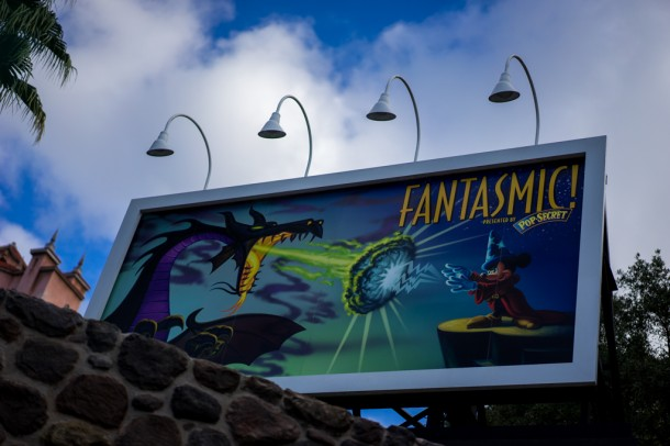 Fantasmic! - sponsored by Pop Secret, the new official popcorn of Walt Disney World.