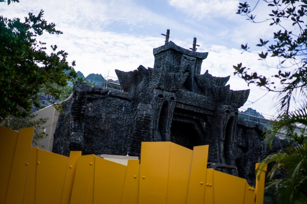 Reign of Kong construction keeps moving along.