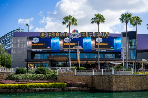 NBC Grill Brew has been pretty successful and is now serving for lunch as well as dinner.