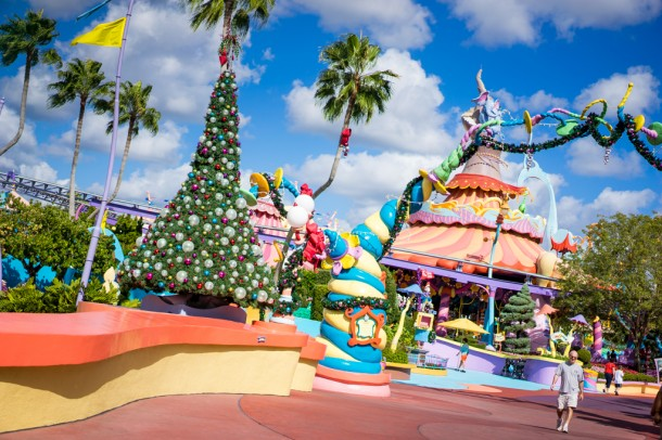 Seuss Landing is all ready for Grinchmas!