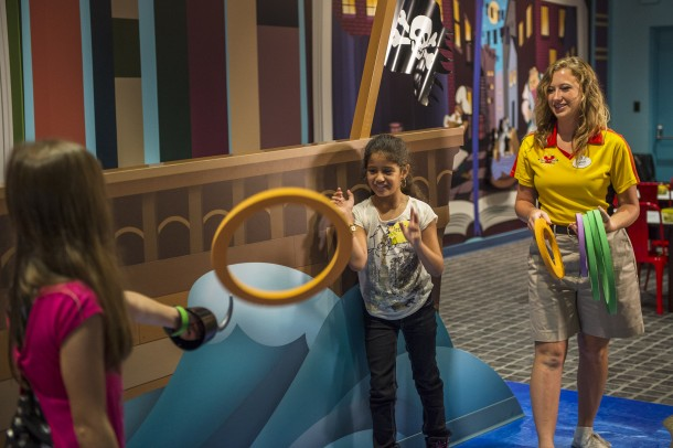 Child-Sized Fun in LiloÕs Playhouse at DisneyÕs Polynesian Village Resort