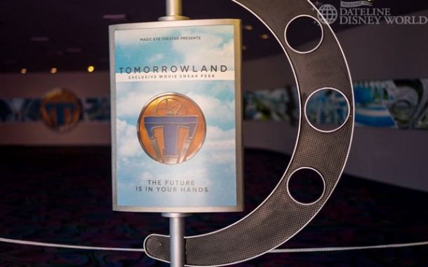 Captain EO closed for a Tomorrowland preview.