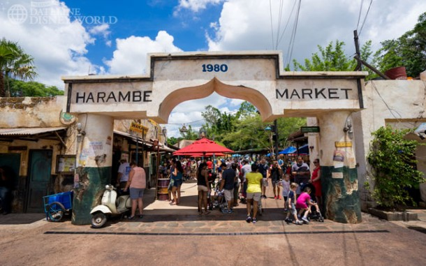 The stunning Harambe Market opened, with lots of great theming and food.