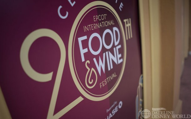 We celebrated 20 years of the Food and Wine Festival.