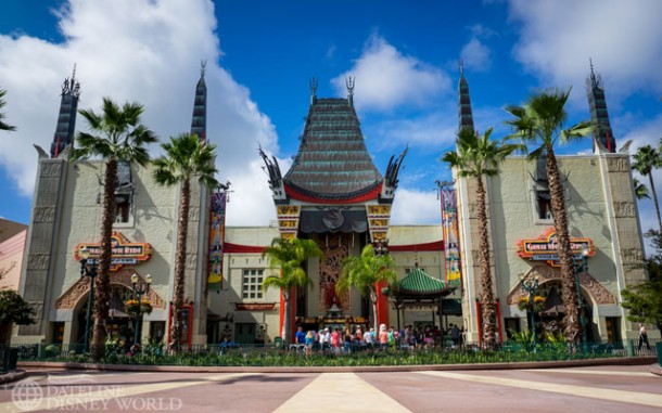 We finally got our clean shot of the Chinese Theater!