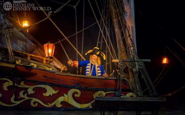 Pirates came back from refurbishment looking great, but still suffering from many operational issues that cause the ride to go down.
