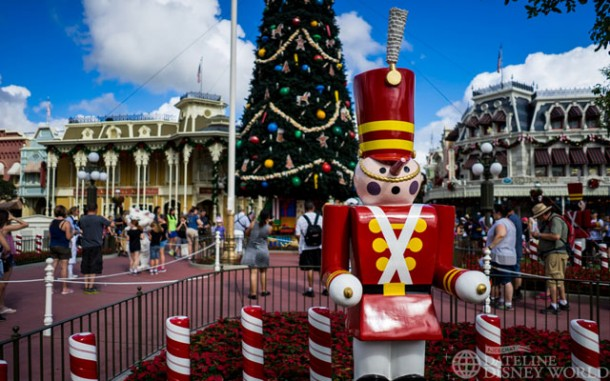 The holidays returned to the Magic Kingdom.