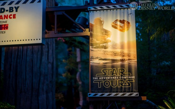 Star Tours has seen a change that features the Jakku planet from Episode VII.