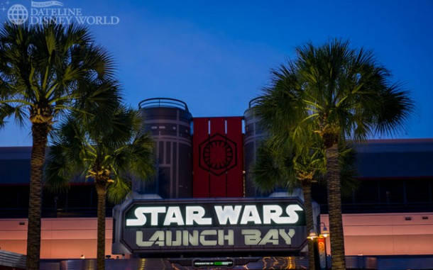Now, for what we're all really here to see - Star Wars Launch Bay opened this week!