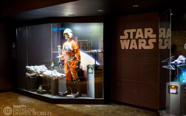 Once inside, there are lots of props and costumes, starting with the original and prequel trilogies.