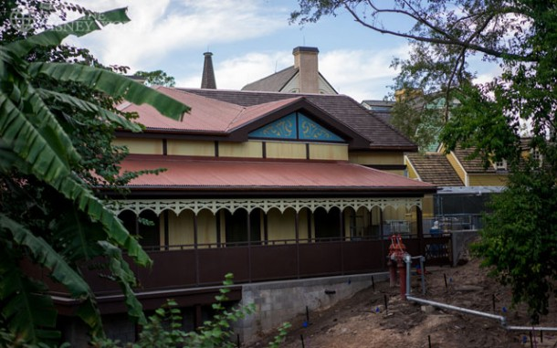 The Jungle Cruise Skipper Canteen is very close to opening.