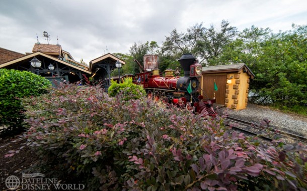 WDW Railroad is back up after its refurbishment.