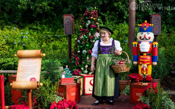 In Germany, Helga talks to us about the history of the Advent Calendar as well as the Nutcracker.