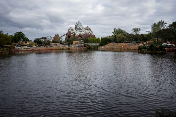 Rivers of Light construction continued, with the first performance being Spring 2016.