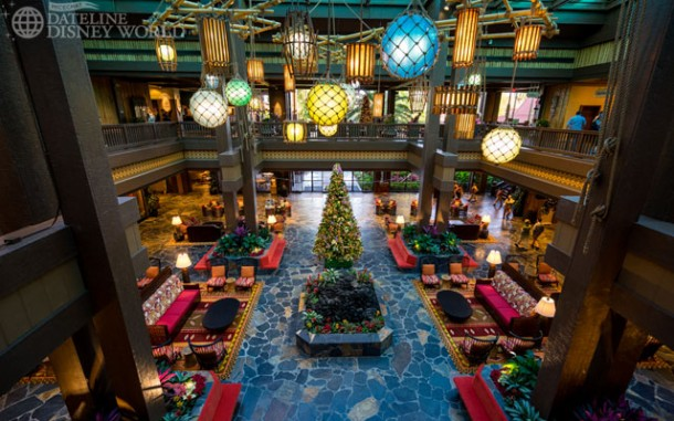The lobby of the Polynesian saw some controversial changes.