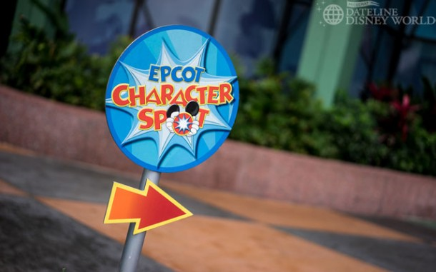 There has been an addition to the Epcot Character Spot.
