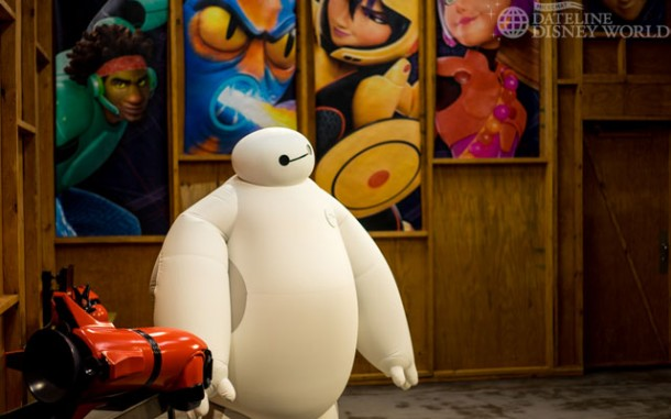 You can now meet Baymax there.