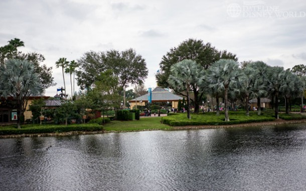 Epcot's Christmas tree is now down.