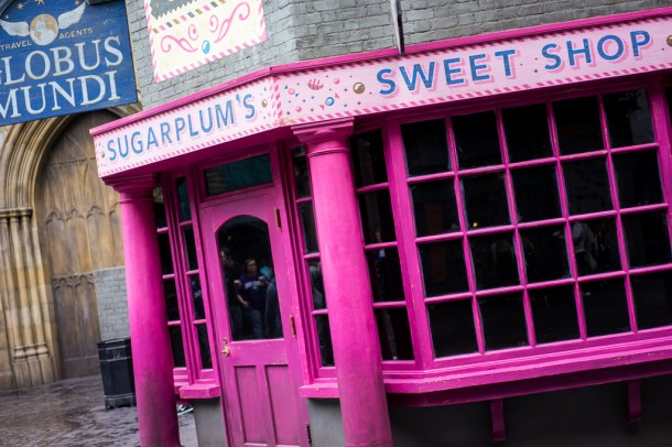 The new sweet shop has yet to open up.