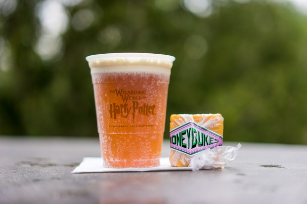 Butterbeer and Butterbeer fudge.