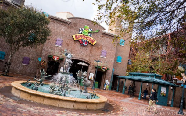 While almost everything around it will be closing, Disney has said this past week that Muppet Vision 3D is safe!