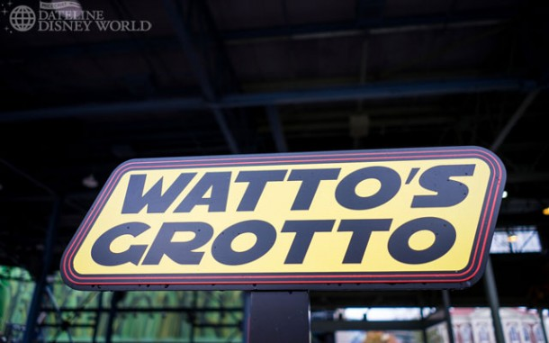Lots of work was done inside the Watto's Grotto building, but we think that will be closing come April as well.