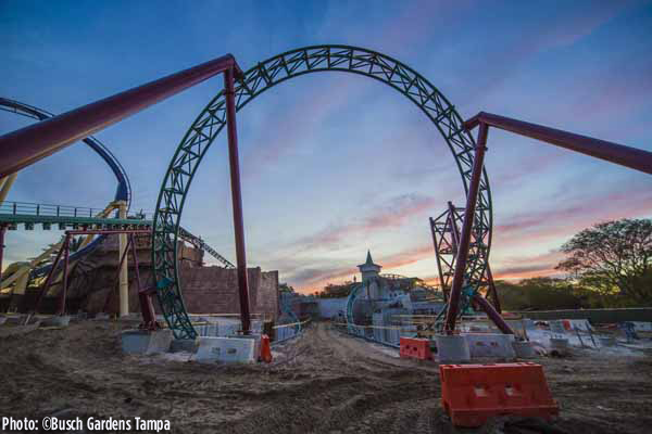 2016_Cobra's Curse at Busch Gardens_Coaster Loop