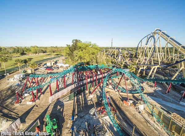 2016_Cobra's Curse at Busch Gardens_Coaster View