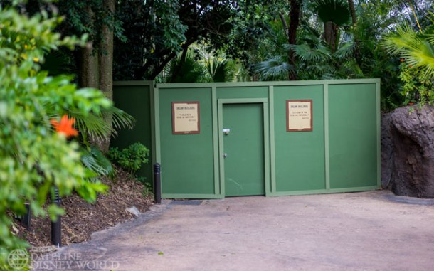 Another Discovery Island trail closed.
