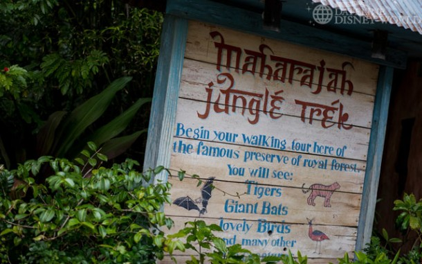 Maharajah Jungle Trek just reopened after a refurb.